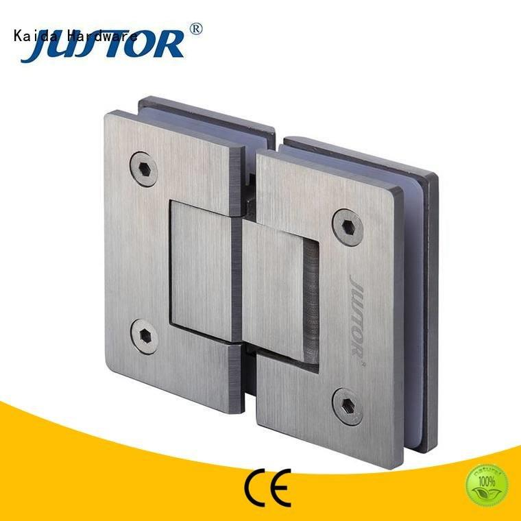 juw109 glass door hinges Kaida glass hardware glass to glass hinges