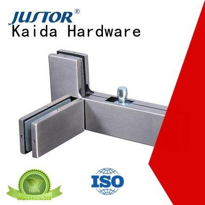 glass door fittings zinc iron Stainless steel Kaida glass hardware