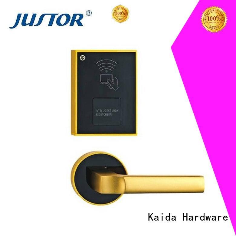 excellent smart lock Zinc alloy factory direct supply for security doors