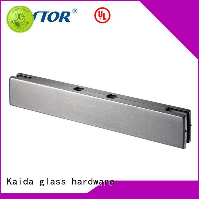10mm Custom patch Aluminum patch fitting Kaida glass hardware zinc