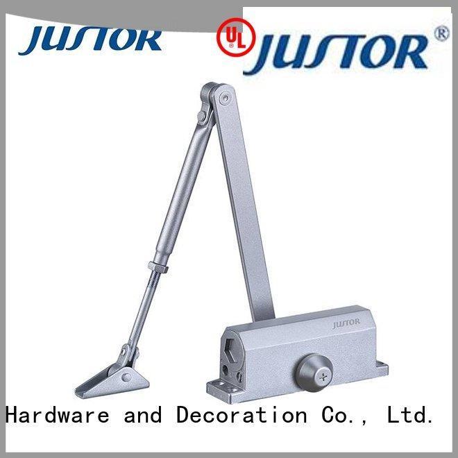 Wholesale iron refined aluminum alloy automatic door closer Kaida glass hardware Brand