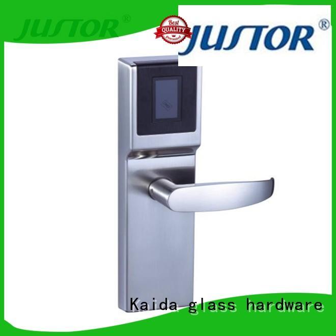 Kaida glass hardware Zinc alloy smart lock factory direct supply for hotel