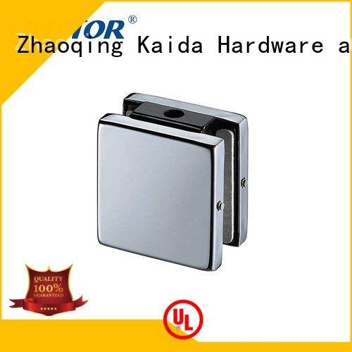 Wholesale zinc floor spring patch fitting Kaida glass hardware Brand