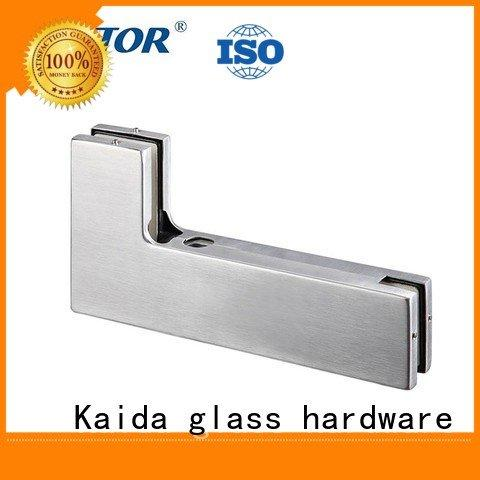 Kaida glass hardware Aluminum patch fitting Stainless steel fitting