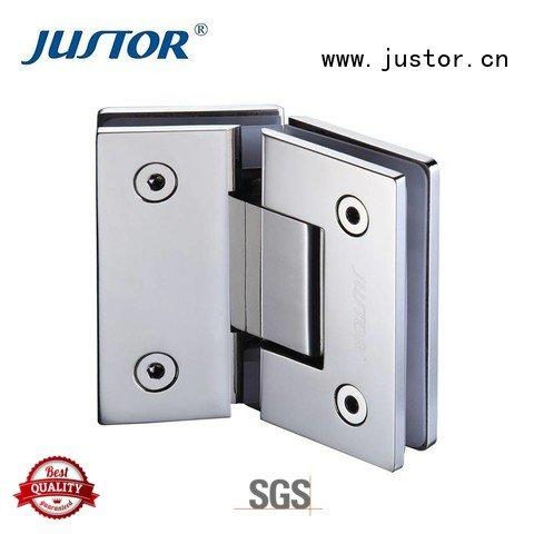 Quality glass to glass hinges Kaida glass hardware Brand juw111 glass door hinges