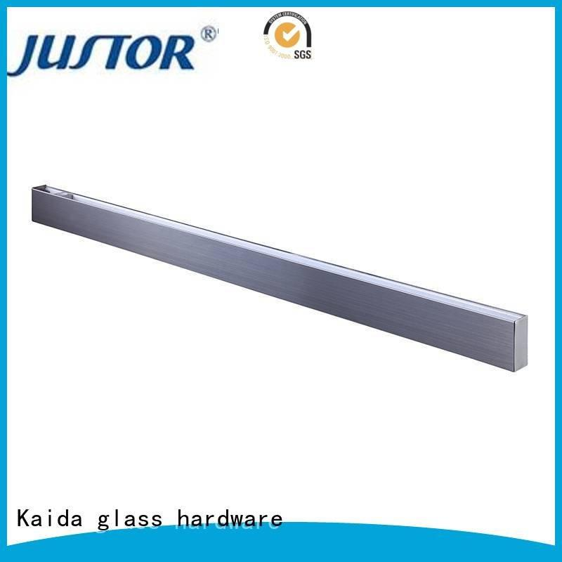glass door fittings Stainless steel patch fitting floor spring Kaida glass hardware