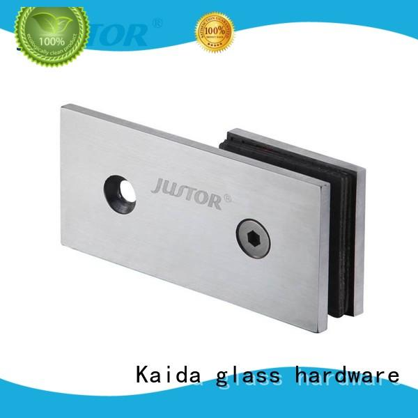 Kaida glass hardware hydraulic shower door hinges directly sale for bathroom