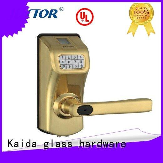 electronic hotel locks hotel digital door lock Kaida glass hardware