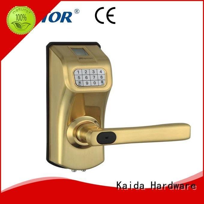 Kaida glass hardware Brand ez1302 intelligent hotel electronic hotel locks