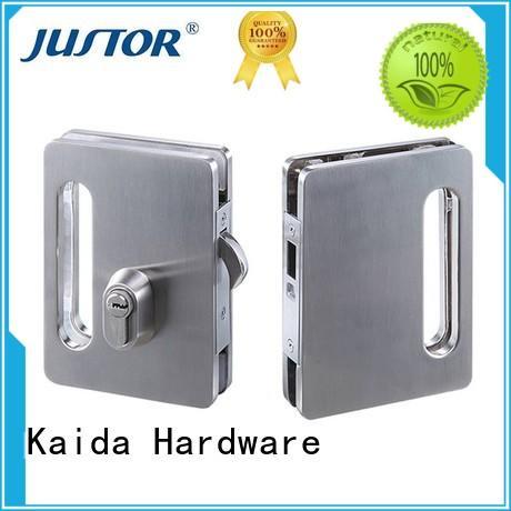 quality glass door locks hardware aluminum series for hotel