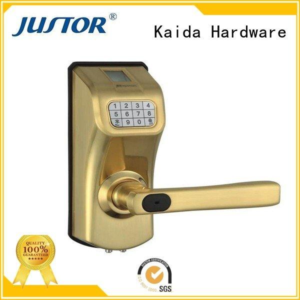 electronic hotel locks wooden digital door lock Kaida glass hardware Brand