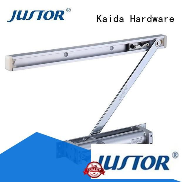 Kaida glass hardware adjustable automatic door closer design for offices
