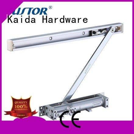 Kaida glass hardware Brand Customized Color Wooden doors one- way flat door automatic door closer