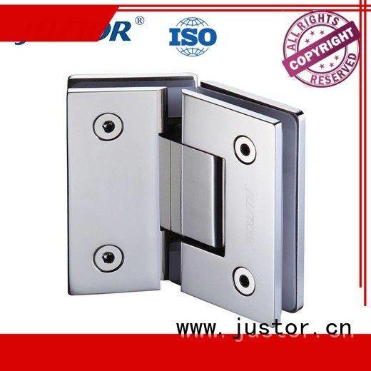 glass to glass hinges Shower room Kaida glass hardware Brand glass door hinges