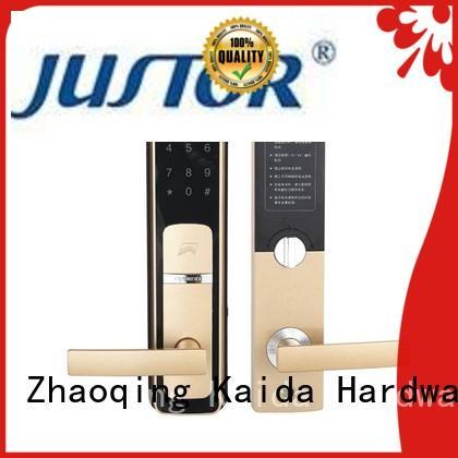 Kaida glass hardware intelligent smart lock directly sale for home