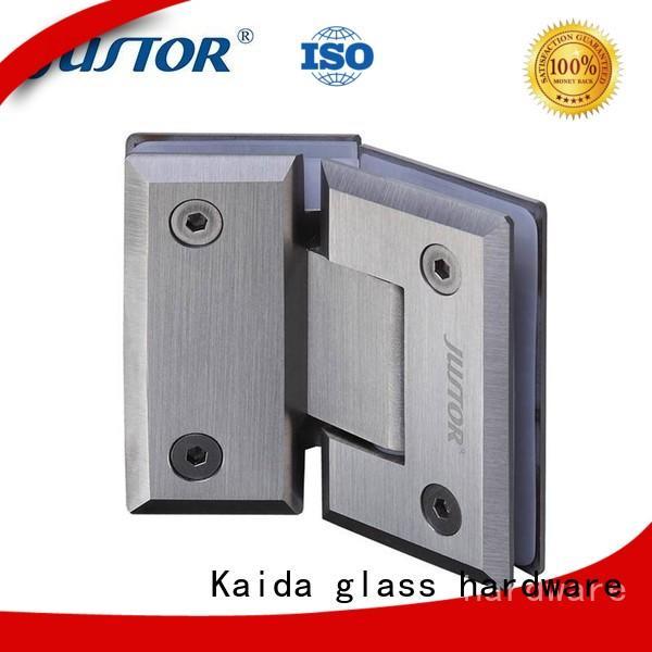 glass to glass hinges bathroom Bulk Buy clip Kaida glass hardware