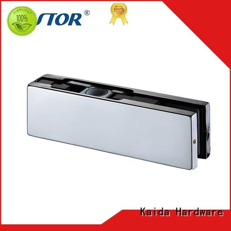 Kaida glass hardware square glass door patch hardware wholesale for conference room