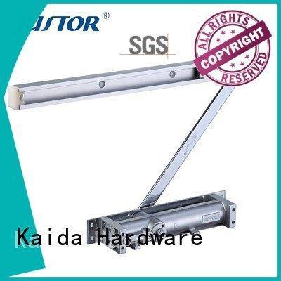 door closer hardware Customized Color aluminum alloy automatic door closer Kaida glass hardware Brand