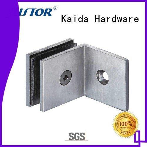 automatically toughened glass shower door Kaida glass hardware glass door hinges