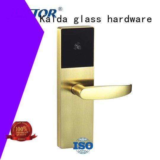 electronic hotel locks community smart digital door lock Kaida glass hardware Brand