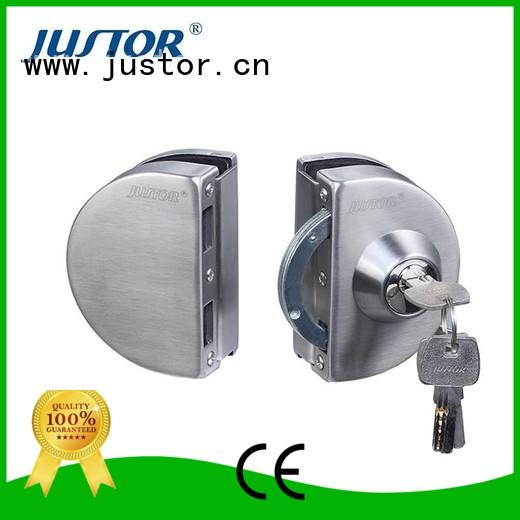 glass elegance Double side Kaida glass hardware Brand glass door lock supplier
