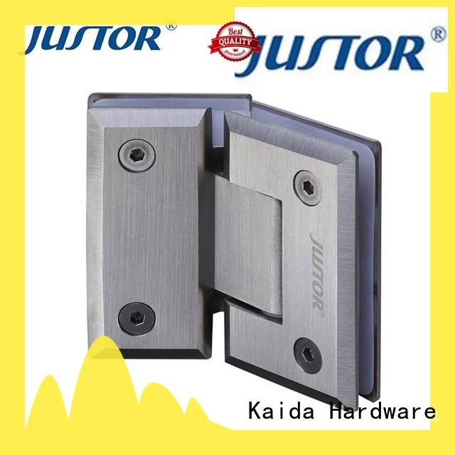 Kaida glass hardware reliable glass to glass hinges wholesale for hotels