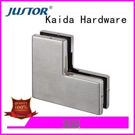 Custom Stainless steel patch fitting patch glass door fittings