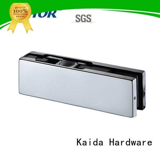 Kaida glass hardware zinc Aluminum fitting glass door fittings Stainless steel