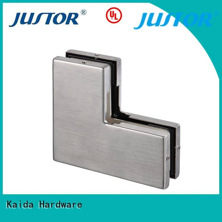 floor spring 10mm iron fitting Kaida glass hardware patch fitting