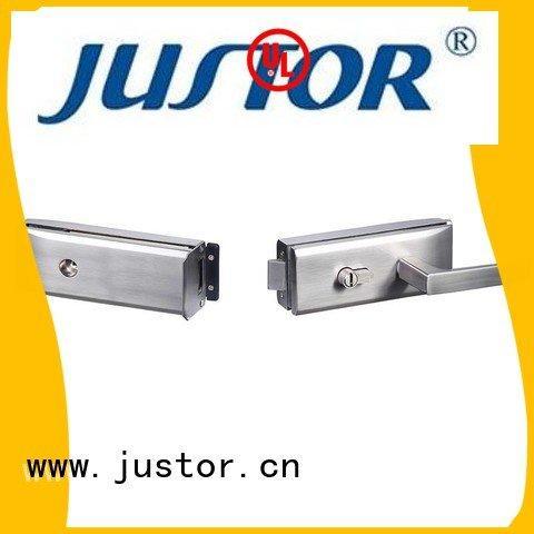Custom lock glass door lock glass sliding glass door handle with lock