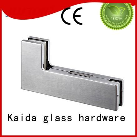 iron patch fitting Stainless steel Kaida glass hardware company