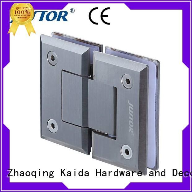 12mm bathroom glass door hinges shower door clip Kaida glass hardware company