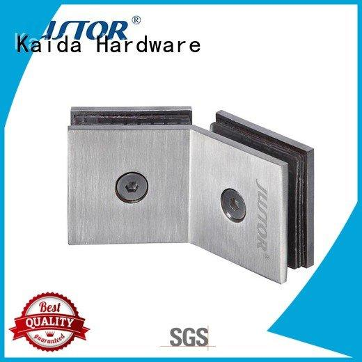 Kaida glass hardware Brand toughened glass 8mm automatically glass to glass hinges