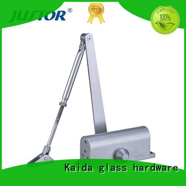 Kaida glass hardware adjustable hydraulic door closer from China for offices