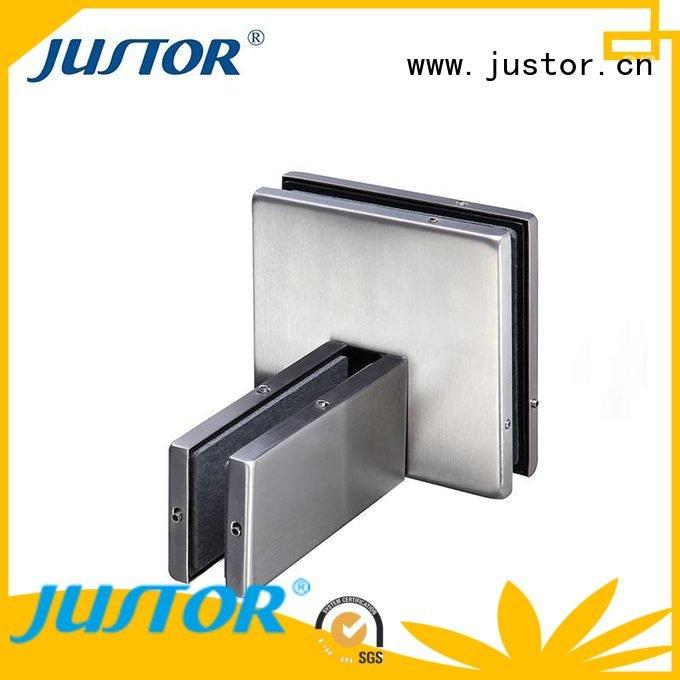 floor spring iron 10mm glass door fittings Kaida glass hardware
