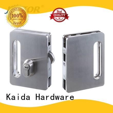 half round frameless glass door lock directly sale for offices