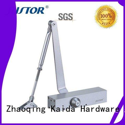 Wholesale iron refined rooms automatic door closer Kaida glass hardware Brand