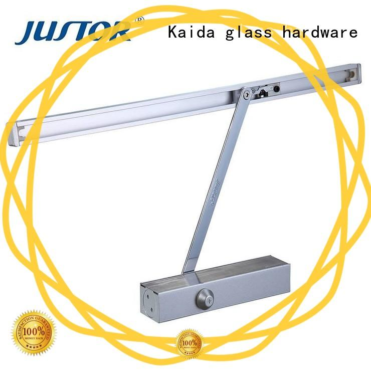 commercial door closer square shape for hotel Kaida glass hardware