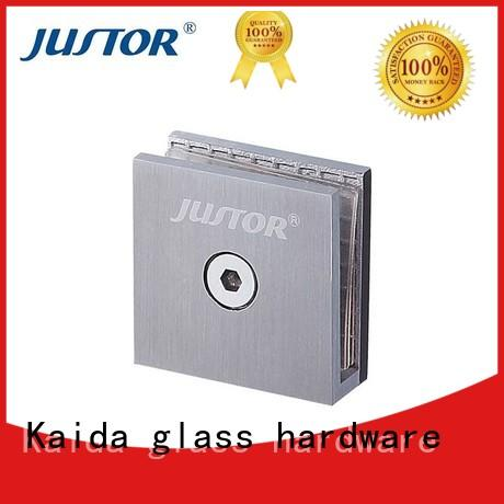 Kaida glass hardware durable glass to glass shower door hinges directly sale for shower room