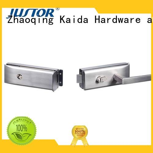 Kaida glass hardware professional glass door lock directly sale for offices