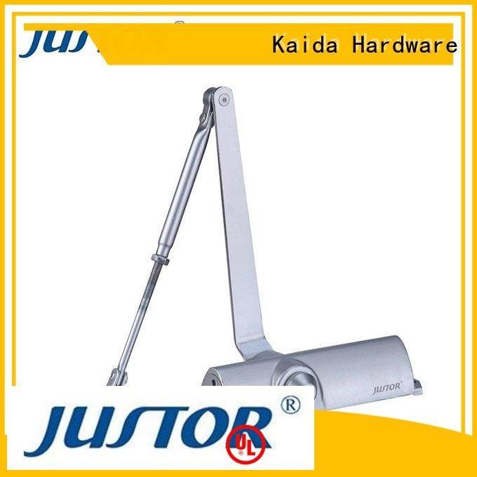 Kaida glass hardware door closer hardware positioning 8mm Wooden doors 12mm
