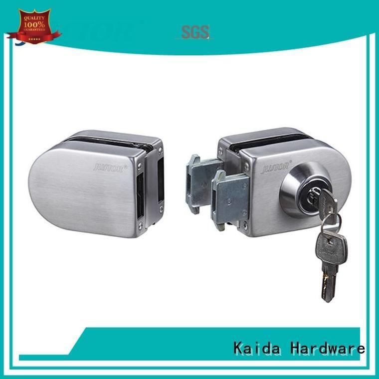 Kaida glass hardware sliding glass door handle with lock lock elegance Office Office