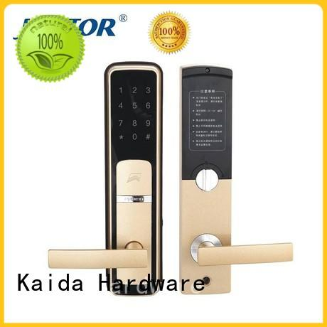 Kaida glass hardware smart hotel electronic door locks factory direct supply for hotel