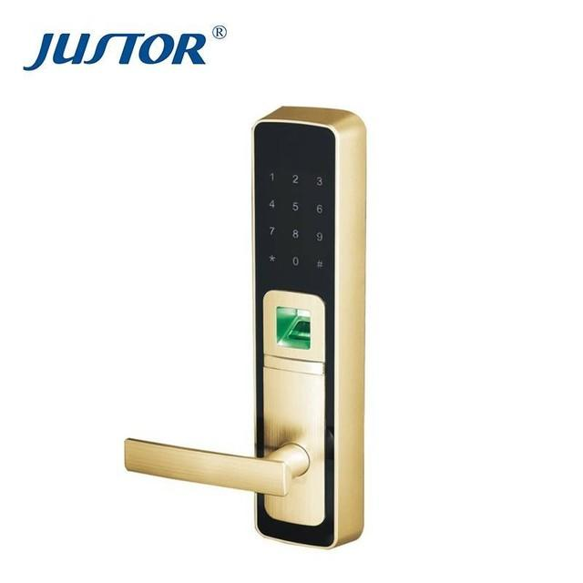 Zinc alloy digital door lock factory direct supply for security doors Kaida glass hardware