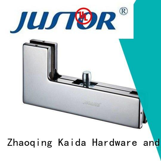 glass door fittings zinc Kaida glass hardware Brand patch fitting