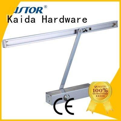 Kaida glass hardware automatic door closer rooms aluminum 12mm Color