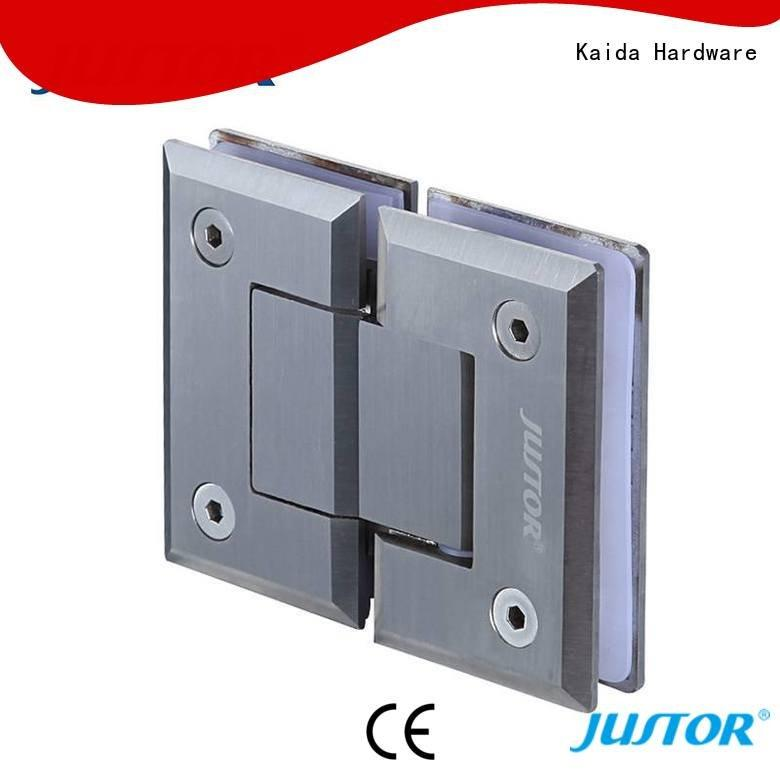 clip glass door hinges bathroom juw109 Kaida glass hardware