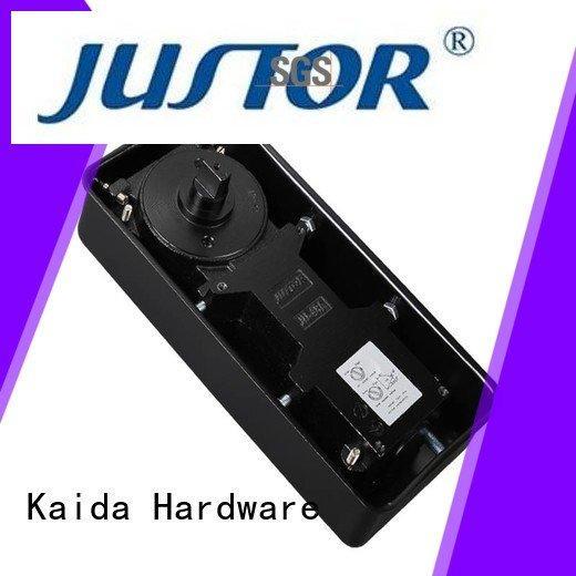 Heavy Duty Iron casting glass door floor spring price Kaida glass hardware