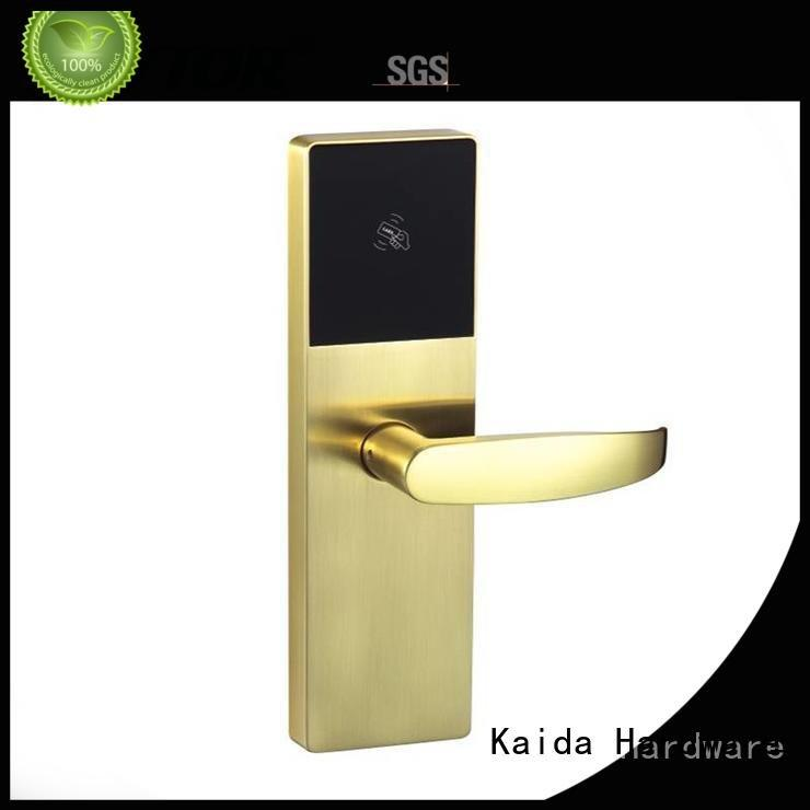 Aluminum alloy digital door lock Kaida glass hardware electronic hotel locks