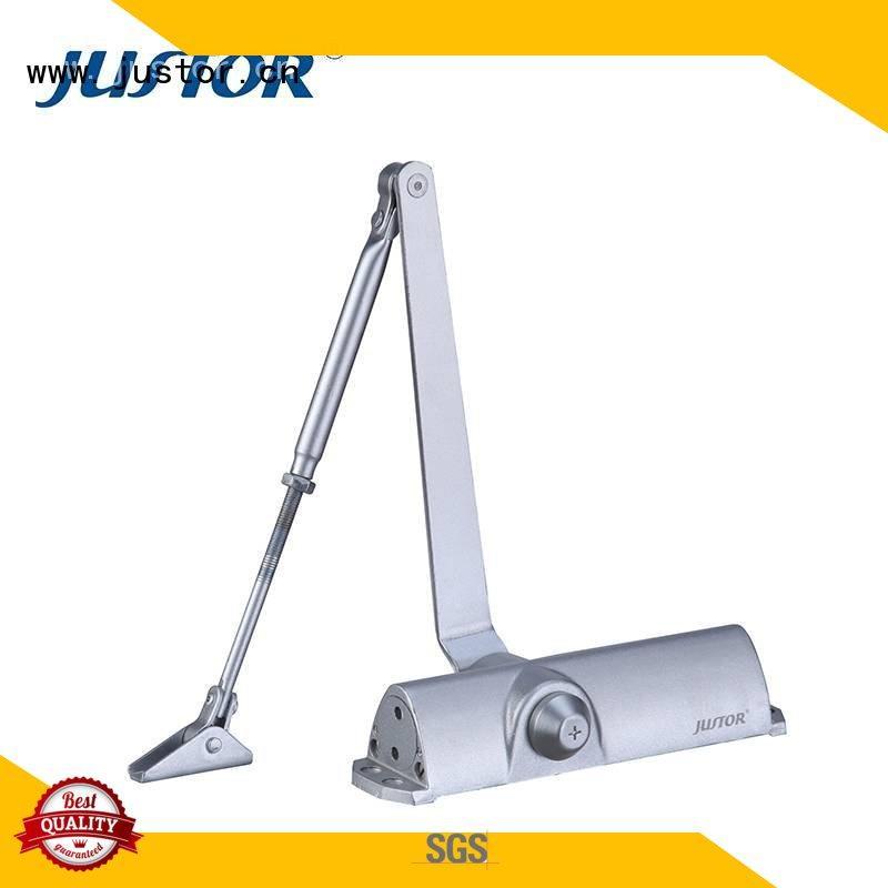 Kaida glass hardware Brand Customized Stainless steel door closer hardware one- way flat